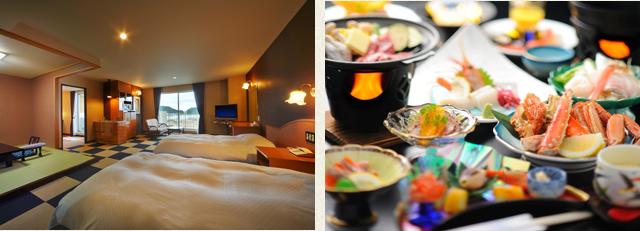 特別室-キッチン・お食事-|知床ノーブルホテル