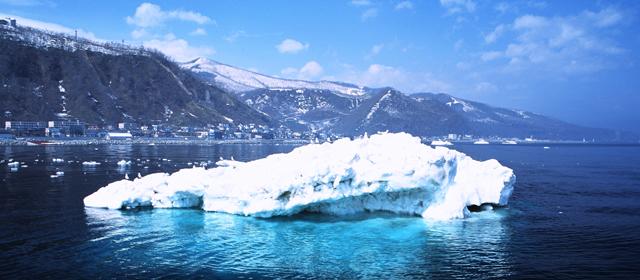 知床の流氷|知床ノーブルホテル
